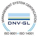 Certificado ISO 9001 y Certificado ISO 14001